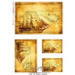 antique-map-ship-rice-paper