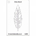 that-s-crafty-dinky-stencil-feather-tc098